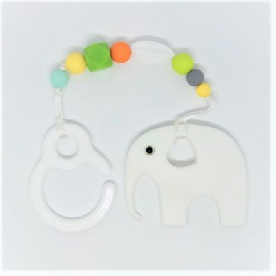 Mordedor silicona NEW WHITE ELEPHANT
