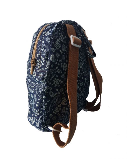 mochila infantil vaquero flores, alokoala