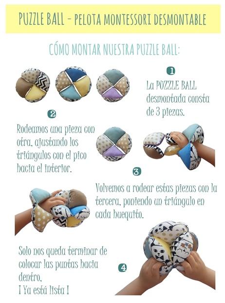 cómo montar nuestra puzzle ball