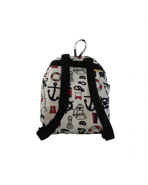 mochila juvenil alokoala marinero correas negras