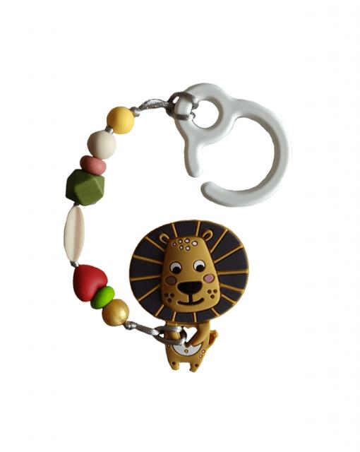 mordedor silicona alokoala león