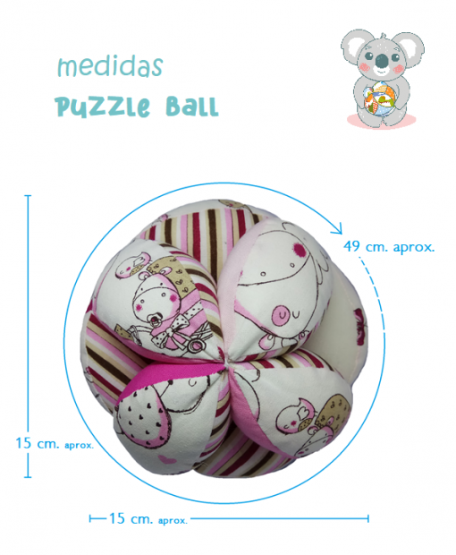 medidas puzzle ball