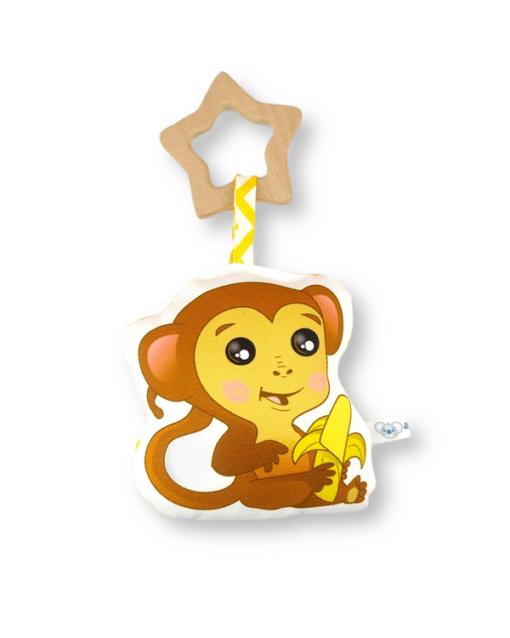 peluche sonajero mordedor alokoala mono